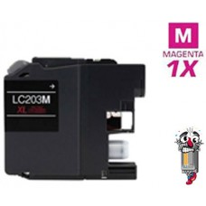 Brother LC203M standard Magenta Inkjet Cartridge Remanufactured
