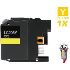 Brother LC205Y Super High Yield Yellow Inkjet Cartridge Remanufactured