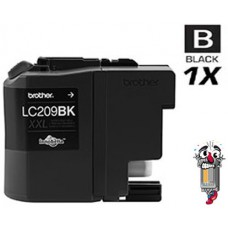 Brother LC209BK Super High Yield Black Inkjet Cartridge Remanufactured