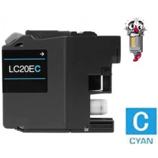 Brother LC20E XXL Super High Yield Cyan Inkjet Cartridge Remanufactured