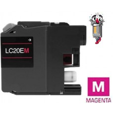 Brother LC20E XXL Super High Yield Magenta Inkjet Cartridge Remanufactured