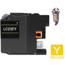 Brother LC20E XXL Super High Yield Yellow Inkjet Cartridge Remanufactured