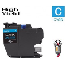 Brother LC3019CCIC Super High Yield Cyan Inkjet Cartridge Remanufactured