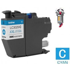 Brother LC3029CCIC Super High Yield Cyan Inkjet Cartridge Remanufactured