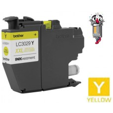 Brother LC3029YCIC Super High Yield Yellow Inkjet Cartridge Remanufactured