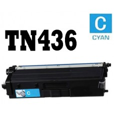 Brother TN436C Cyan Super High Yield Toner Cartridge Premium Compatible