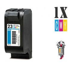 Hewlett Packard C1823D HP23 Tri-Color Inkjet Cartridge Remanufactured