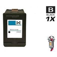 Hewlett Packard HP62 C2P04AN Black Inkjet Cartridge Remanufactured
