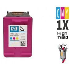 Hewlett Packard HP62XL C2P07AN High Yield Tri-Color Ink Cartridge Remanufactured