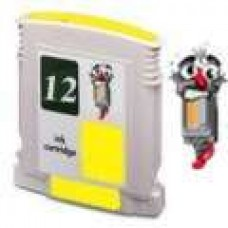 Hewlett Packard HP12 C4806A Yellow Inkjet Cartridge Remanufactured