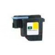 Hewlett Packard HP11 C4813A Yellow Printhead Cartridge Remanufactured