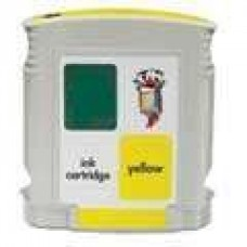 Hewlett Packard HP11 C4838AN Yellow Inkjet Cartridge Remanufactured