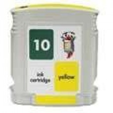 Hewlett Packard HP10 C4842A Yellow Inkjet Cartridge Remanufactured