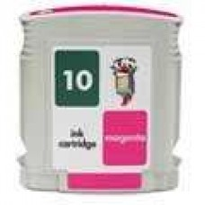 Hewlett Packard HP10 C4843A Magenta Inkjet Cartridge Remanufactured
