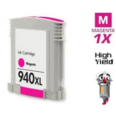 Hewlett Packard C4908AN HP940XL High Yield Magenta Inkjet Cartridge Remanufactured