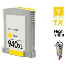 Hewlett Packard C4909AN HP940XL High Yield Yellow Inkjet Cartridge Remanufactured