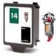 Hewlett Packard HP14 C5011DN Black Inkjet Cartridge Remanufactured
