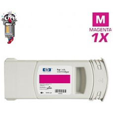 Hewlett Packard C5063A HP90 Magenta Inkjet Cartridge Remanufactured