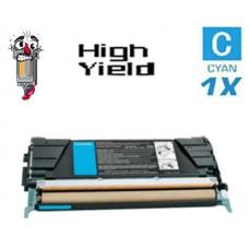 Lexmark C5240CH High Yield Cyan Laser Toner Cartridge Premium Compatible