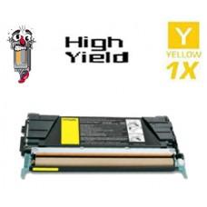 Lexmark C5240YH High Yield Yellow Laser Toner Cartridge Premium Compatible