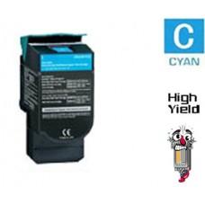 Lexmark C544X2C Extra High Yield Cyan Laser Toner Cartridge Premium Compatible