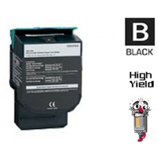 Lexmark C544X2K Extra High Yield Black Laser Toner Cartridge Premium Compatible