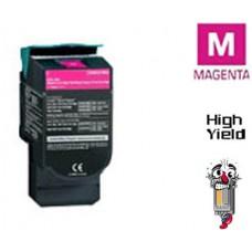 Lexmark C544X2M Extra High Yield Magenta Laser Toner Cartridge Premium Compatible