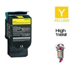 Lexmark C544X2Y Extra High Yield Yellow Laser Toner Cartridge Premium Compatible