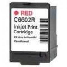 Hewlett Packard C6602R Red Inkjet Cartridge Remanufactured