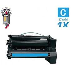 Lexmark C7702CH High Yield Cyan Laser Toner Cartridge Premium Compatible 21
