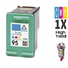Hewlett Packard C8766WN HP95 Tri-Color Inkjet Cartridge Remanufactured