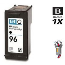 Hewlett Packard HP96 C8767WN Black Inkjet Cartridge Remanufactured