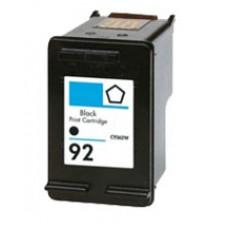 Hewlett Packard HP92 C9362WN Black Inkjet Cartridge Remanufactured