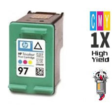 Hewlett Packard C9363WN HP97 Tri-Color Inkjet Cartridge Remanufactured