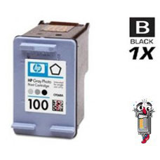 Hewlett Packard C9368AN HP100 Gray Inkjet Cartridge Remanufactured