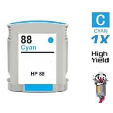 Hewlett Packard C9391AN HP88XL High Yield Cyan High Yield Inkjet Cartridge Remanufactured