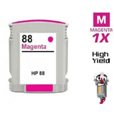 Hewlett Packard C9392AN HP88XL High Yield Magenta High Yield Inkjet Cartridge Remanufactured