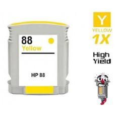 Hewlett Packard C9393AN HP88XL High Yield Yellow High Yield Inkjet Cartridge Remanufactured