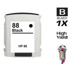 Hewlett Packard C9396AN HP88XL High Yield Black High Yield Inkjet Cartridge Remanufactured