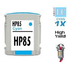 Hewlett Packard HP85 C9428A Light Cyan Inkjet Cartridge Remanufactured