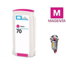 Hewlett Packard HP70 C9453A Magenta Inkjet Cartridge Remanufactured