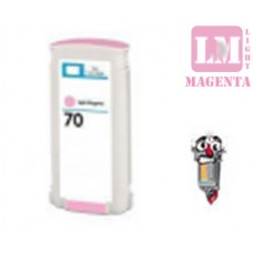 Hewlett Packard HP70 C9455A Light Magenta Inkjet Cartridge Remanufactured