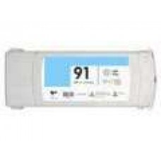 Hewlett Packard C9470A HP91 Light Cyan Inkjet Cartridge Remanufactured