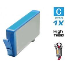 Hewlett Packard HP564XL CB323WN CN685WN Cyan Ink Cartridge Remanufactured