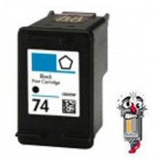 Hewlett Packard HP74 CB335WN Black Inkjet Cartridge Remanufactured