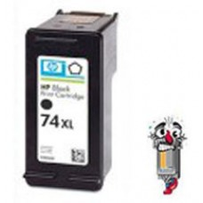 Hewlett Packard HP74XL CB336WN High Yield Black Inkjet Cartridge Remanufactured
