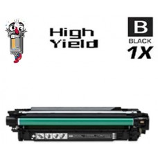 Hewlett Packard CE250X HP504X High Yield Black Laser Toner Cartridge Premium Compatible