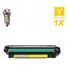 Hewlett Packard CE252A HP504A Yellow Laser Toner Cartridge Premium Compatible