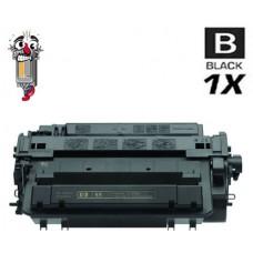 Hewlett Packard CE255A HP55A Black Laser Toner Cartridge Premium Compatible