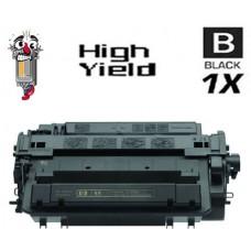 Hewlett Packard CE255X HP55X High Yield Black Laser Toner Cartridge Premium Compatible